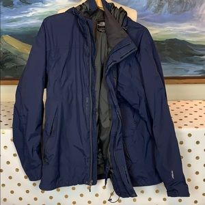 The North Face HyVent jacket w/ hood size xxl